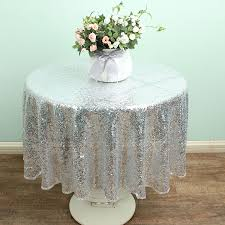 48 round tablecloth small round tablecloths silver charming color with flower amazing 48