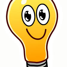 """Создать мем """"лампочка из мультика, лампочка с глазами вектор, лампочка и  смайлик рисунок"""" - Картинки - Meme-arsenal.com"""