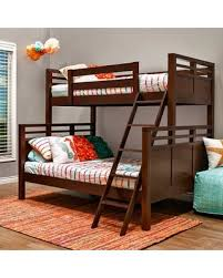 Amazing Deals on Epoch Design Quinn Twin Over Full Bunk Bed 517VN ...