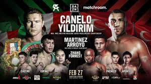 Fight card, date, ppv price, rules, location for the 2021 exhibition match the undefeated pro boxer and the social media influencer will duke it out in miami on. Canelo Alvarez S Next Fight Date Time Price Full Card For Canelo Vs Avni Yildirim Dazn News Us