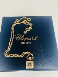 chopard happy diamonds pendant 18kt