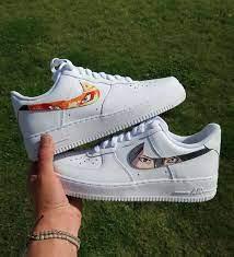 Naruto Air Force 1s Bewerten Sie diese! Cop oder | Nike air shoes, Naruto  shoes, Nike shoes air force