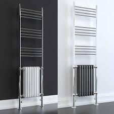 DUKE ELEMENTS Traditional Victorian Heated Towel Rail Column