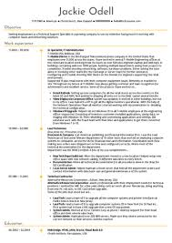 resume for it company software engineering resume samples from real professionals