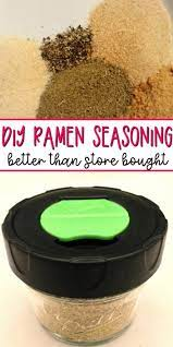 homemade ramen seasoning a quick and