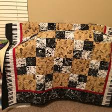 18 best Music theme quilts images on Pinterest | Music, Baby ... & Music themed quilt Adamdwight.com