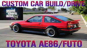 GTA 5 Custom Car Build - #15 Toyota AE86/Futo + Airport Drifting ...