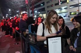 ticket sales records hunger games breaks box office records the new york times