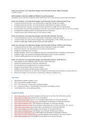 Ui Ux Developer Resume Senior Ui Ux Designer Resume Samples