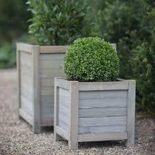 40cm Wooden Planter from Garden Trading