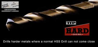 best drill bits for hardened steel. metric and imperial cobalt steel drills. ttp hard drill bits best drill bits for hardened