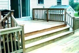 wood barn staircase