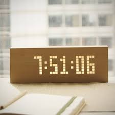 keep track of time with these digital clocks