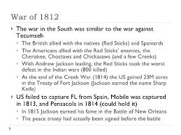 apush ch web war of 1812