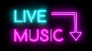 Neon Lights Live Free Download Live Music Neon Sign Lights Logo Text Glowing