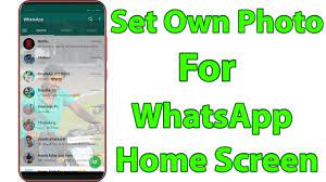 How To Change Home Screen Wallpaper In ...