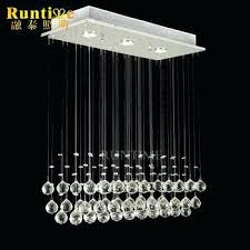 rain chandelier modern chandelier rain drop lighting crystal ball fixture pendant ceiling lamp 3 lights