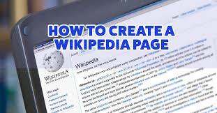 Wikipedia Create How To Create A Wikipedia Page Hvma Social Media