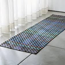 allta multi indooroutdoor rug runner crate and barrel indoor outdoor runner rugs