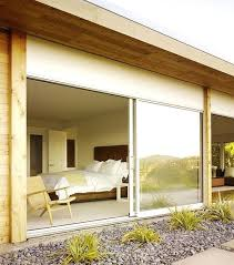 modern sliding glass doors view in gallery bring freshness into this bedroom door window treatments