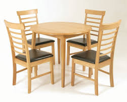 hanover round 4 seater drop leaf dining set
