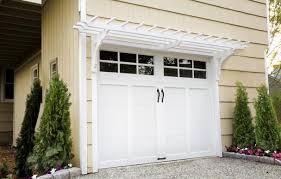garage door arborHow to Build a Garage Pergola  This Old House