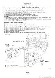 nissan patrol 1998 y61 5 g body workshop manual G Body Wiring Harness g body workshop manual g body ls swap wiring harness