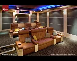 modern home theater seating. media room withmodern banquette seating home theater m