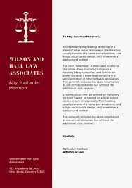 Law Templates Customize 37 Law Firm Letterhead Templates Online Canva