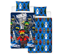 lego ninjago bedding set available from b m s asda now