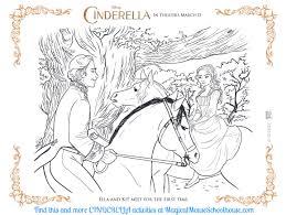 CINDERELLA Coloring Sheets & Activity Pages