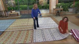 mad mats moroccan indoor outdoor floor mat on qvc