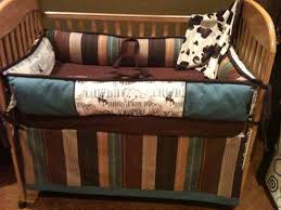boy western crib bedding