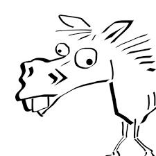 馬のイラスト 自分好みで見つけるおもしろい馬アイコン