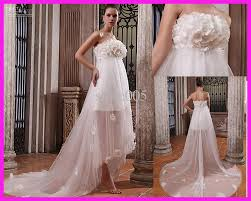 pregnant wedding dresses. Empire Flowers Beach Maternity Wedding Dresses Gowns Pearls For