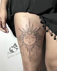 125 Sizzling Hot Sun Tattoo Design Ideas For Men And Women