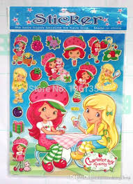 whole strawberry shortcake wallpaper orted jolee s boutique stickers book stickers as chrismas gift 0501 gift box with handle gift organza