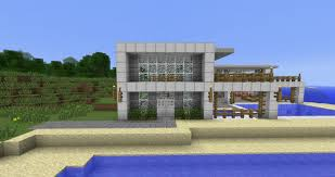 mesmerizing beach house design minecraft photos simple home