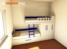 Letto a soppalco su misura: letto a soppalco in legno casa