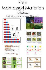 Montessori First Great Lesson Charts Free Montessori Materials Online