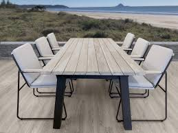 Teak table auckland tauranga outdoor furniture