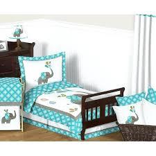 mod elephant 5 piece toddler bedding set uk sweet designs