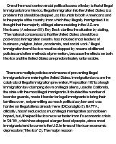 illegal immigration at com essay on illegal immigration