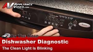 Maytag Dishwasher Start Light Blinking Whirlpool Maytag Dishwasher Clean Light Blinking Shorted Heating Element Du1100xtps1