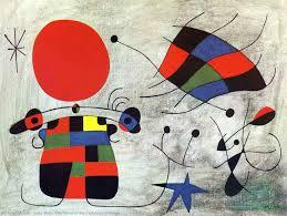 Fundacio Joan Miro Designer Crossword The Smile Of The Flamboyant Wings 1953 By Joan Miro 1893