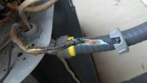 burnt wire in outside ac unit hvac diy chatroom home burnt wire in outside ac unit 20140413 081220 174 jpg
