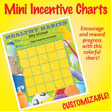 Chart On Healthy Habits Nsd2220 Healthy Habits Editable Mini Incentive Charts