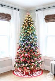 Christmas Living Room Decorating Ideas Inspiration Remodelaholic Decorating With NonTraditional Christmas Colors