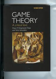 game theory a critical text yanis varoufakis game theory a critical text