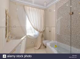 Luxuriöses Badezimmer Innenarchitektur In Einem Klassischen
